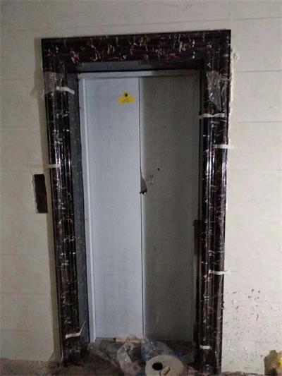 (电梯门套)小黑金花门套15cm宽门套成品02