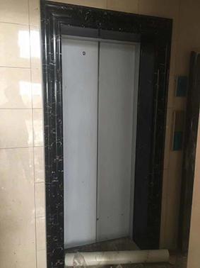 (电梯门套)小黑金花门套15cm宽门套成品01